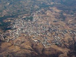 vue aérienne de la sardaigne photo