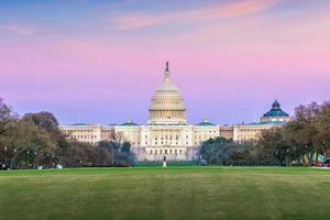 le bâtiment du capitole des états-unis dc photo