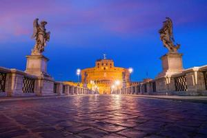 château saint ange à rome, italie photo