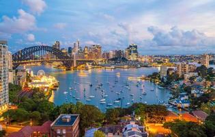 Skyline du centre-ville de Sydney photo