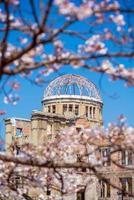 hiroshima au japon. Patrimoine mondial de l'UNESCO photo