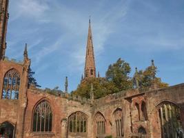 ruines de la cathédrale de couvent photo