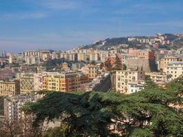 vue sur Gênes Italie photo
