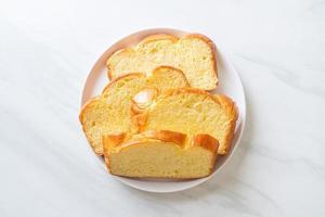 pain de patate douce au café photo