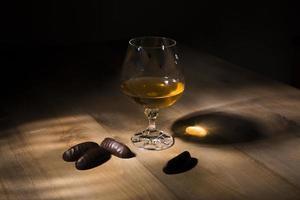 verre de cognac photo