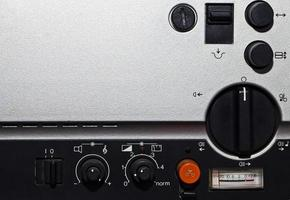 magnétophone rétro analogique vintage photo