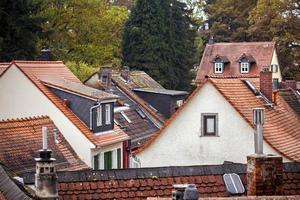 maison de ferme ancienne architecture allemande vintage photo
