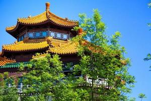 maison chinoise historique vintage photo