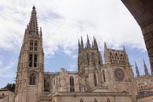 cathédrale de santa maria, burgos, castilla, espagne. photo