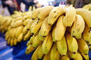 banane de fruits tropicaux frais photo