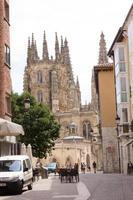 burgos, espagne, 2021 - cathédrale de la ville de burgos photo