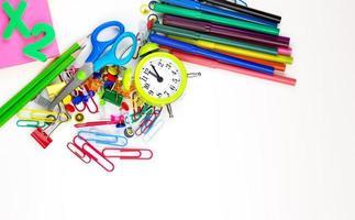 outils d'équipement d'éducation scolaire photo