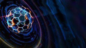 laser de technologie futuriste d'ordinateur quantique photo