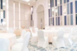 flou abstrait dans un restaurant de luxe pour le fond photo