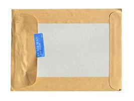 enveloppe de lettre par avion photo