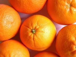 fond de nourriture aux fruits orange photo