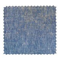 échantillon de tissu bleu jeans en zigzag photo