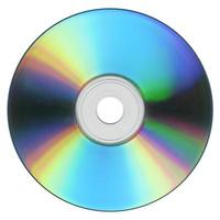 cd ou dvd isolé photo