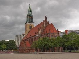 Marienkirche à berlin photo