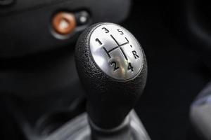 levier de vitesse de voiture photo