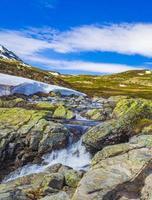 belle rivière storebottane, hemsedal, norvège photo