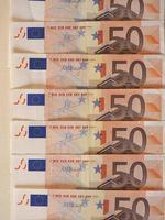 euro eur notes, union européenne ue photo