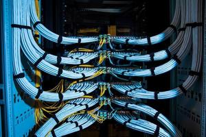 Câbles de fibres optiques photo