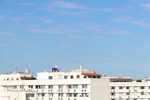 bâtiments dans le quartier de copacabana à rio de janeiro - brésil photo