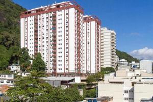 Bâtiments dans le quartier humaita à rio de janeiro, brésil photo