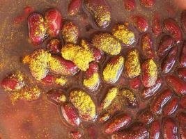curry de haricots rouges photo