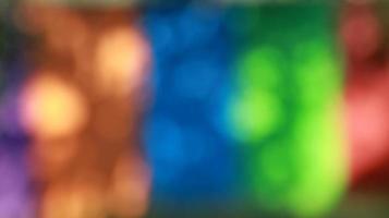 arrière-plan flou de lumières, textures abstraites, motif coloré photo