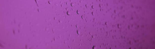 gouttes de pluie sur le verre photo