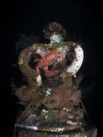 récif artificiel sous-marin à bali. photo