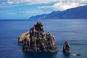 paysage avec falaise de l'océan atlantique photo