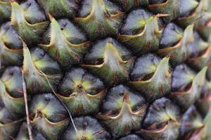 gros plan, de, texture, fond, de, ananas, corps photo
