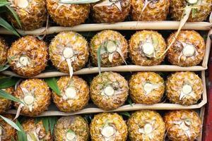 ananas savoureux et sains photo