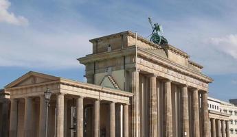 tor brandebourgeois à berlin photo