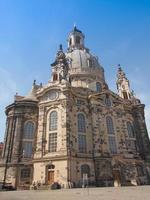 Frauenkirche à Dresde photo
