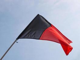 drapeau de la vallée d'aoste photo