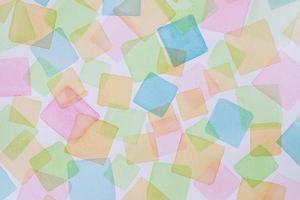 le papier aquarelle à plat photo