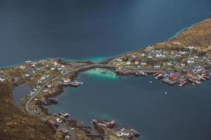 paysage pittoresque des îles Lofoten photo