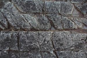 texture de pierre de roche photo