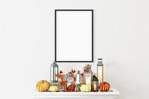 maquette de cadre d'automne - 91 photo