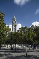 point de repère de l'hôtel de ville dans le centre de la ville de porto au portugal photo