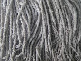 texture des fibres de corde grise photo
