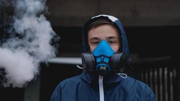 demi-masque respiratoire de protection contre les gaz toxiques photo
