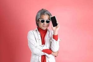 homme sur rose photo