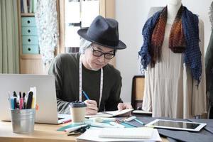 créateur de mode asiatique photo