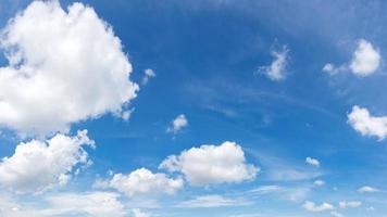 ciel panoramique aux couleurs vives. photo