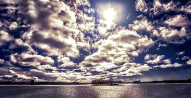 le bleu ciel photo